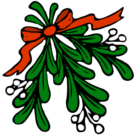 mistletoe clipart.