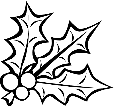 Free Mistletoe Clipart Black And White, Download Free Clip.