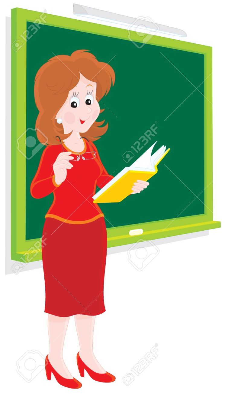 School Teacher Royalty Free Cliparts, Vectors, And Stock.