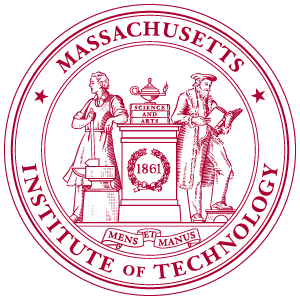 MIT university logo vector free.
