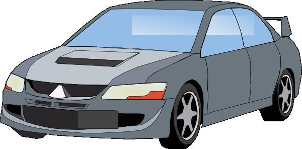 Mitsubishi Evo clip art Free Vector / 4Vector.