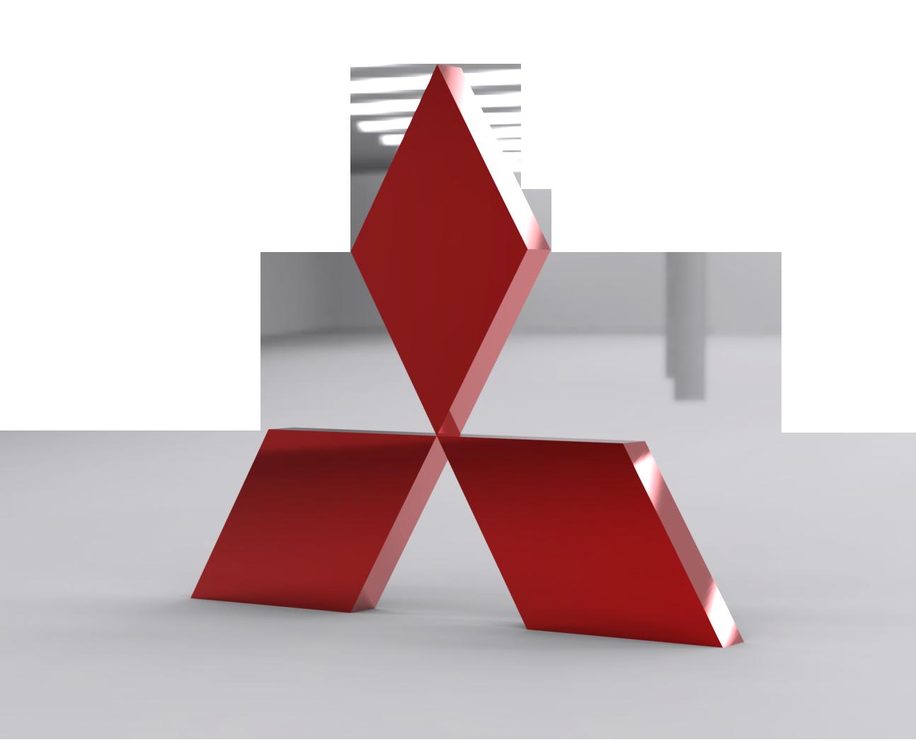 Mitsubishi Logo PNG Image.