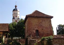 Mittelalterlicher Wohnturm.