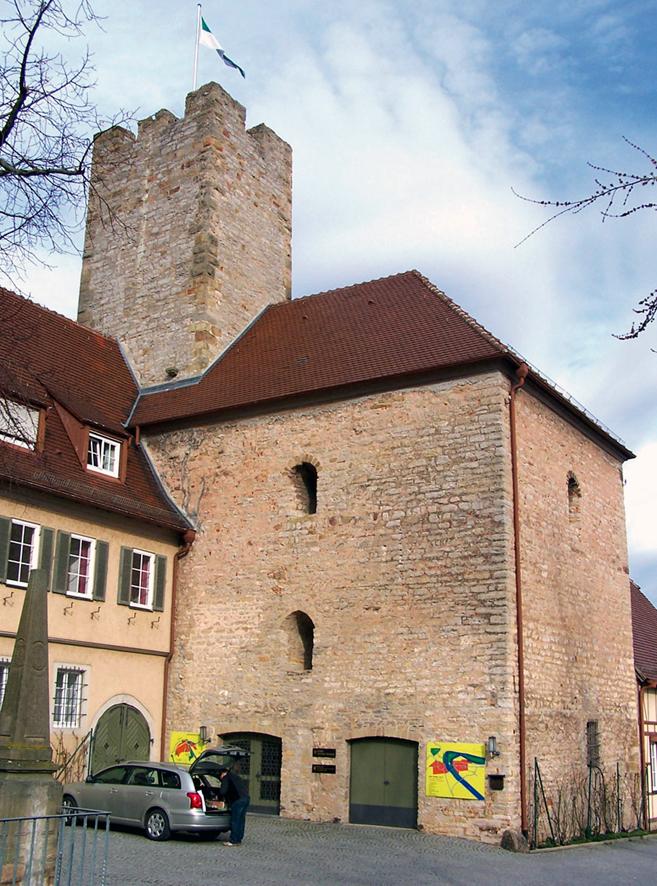 Exkurs: Burgentypen im nordwestlichen Baden.