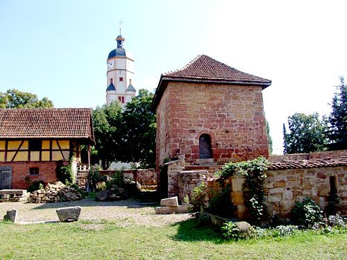 Mittelalterlicher Wohnturm in Wandersleben.
