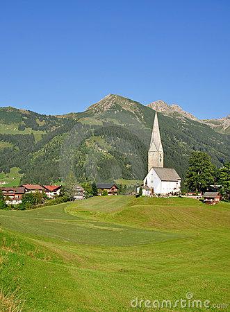 Mittelberg, Austria Stock Photo.