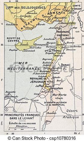 Clipart von Mittelmeer, östlich.