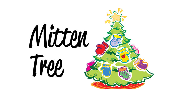Mittens for the Celebration of Giving Mitten Tree.