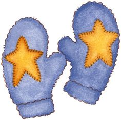 Clipart images winter mittens.