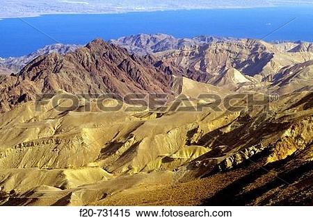 Stock Image of Negev desert near Mitzpe Ramon, Israel f20.