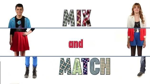 Mix Match Day Clipart.