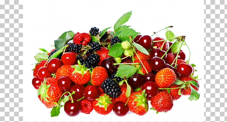 Strawberry Fruit 1080p Cherry, mixed berries PNG clipart.