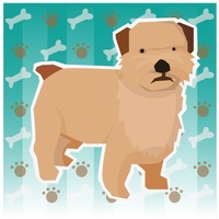 Free Mixed breed dog Vector Image.