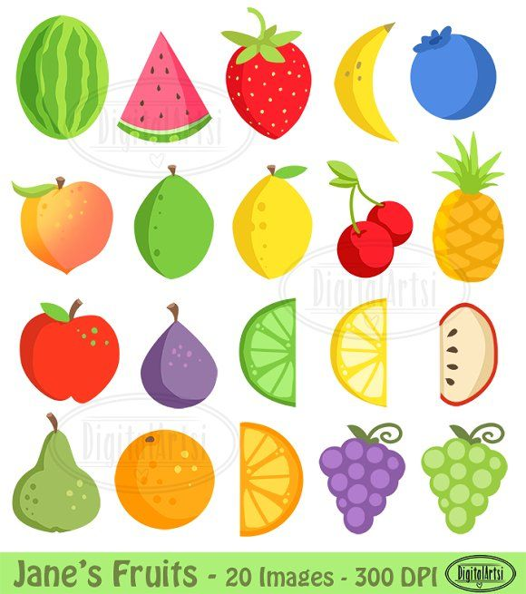 Colorful Fruit.