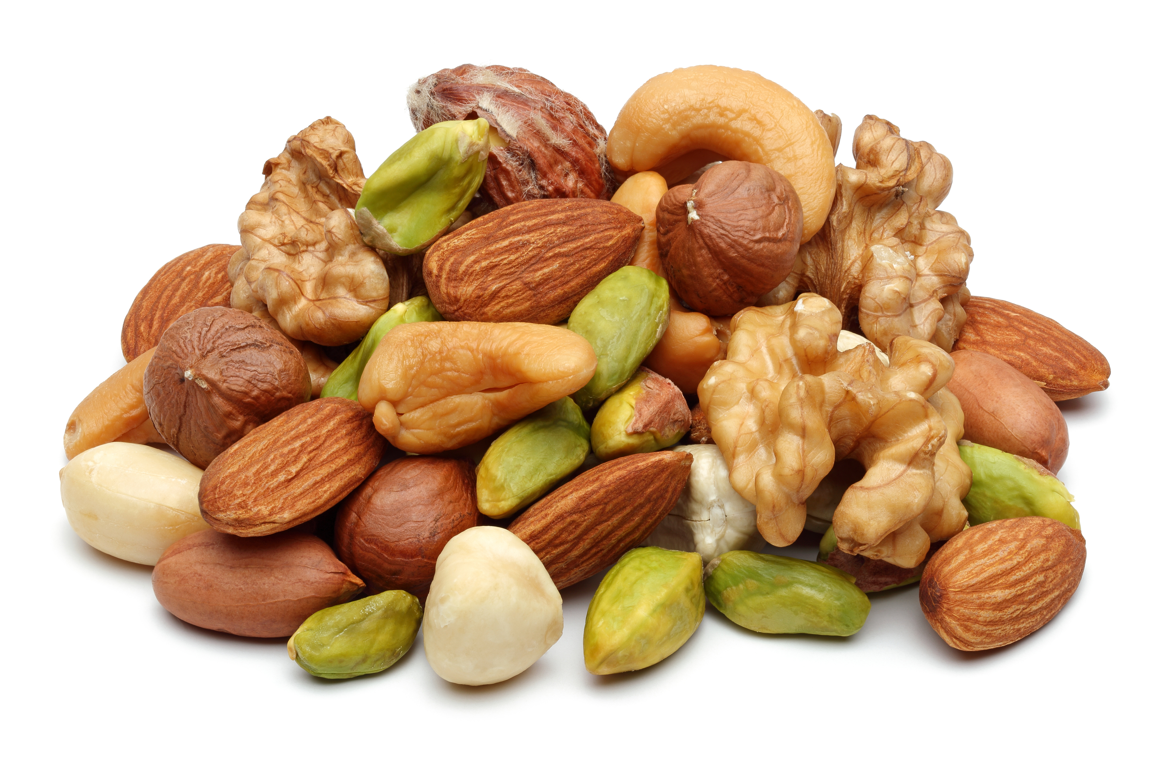 Clipart mixed nuts.