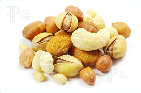 Mixed Nuts Clipart.