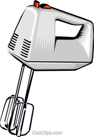 Download Electric Mixer Royalty Free Vector Clip Art.