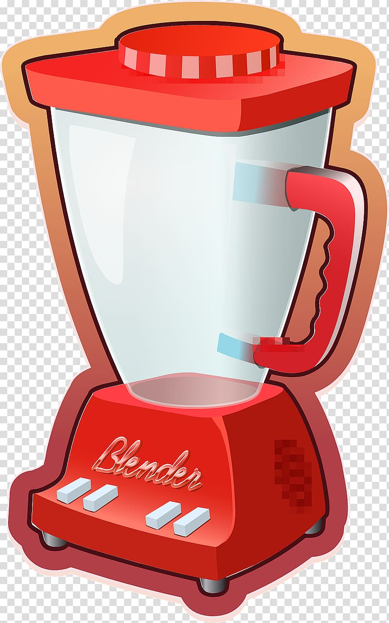 Smoothie Blender Mixer , Mixer transparent background PNG.