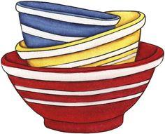 Bowls clipart.