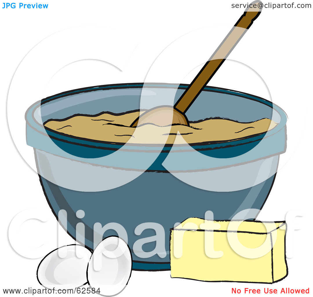 Mixing Bowl Clipart Black And White.
