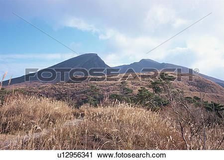 Stock Photography of Ebino Highland, Miyazaki Prefecture, Japan.