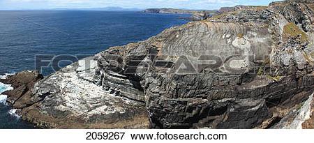 Picture of Rocky Coastline; Mizen Head County Cork Ireland 2059267.