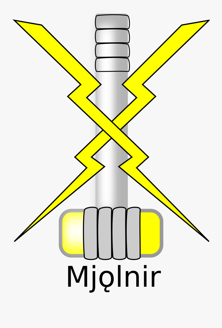 Mjölnir , Free Transparent Clipart.