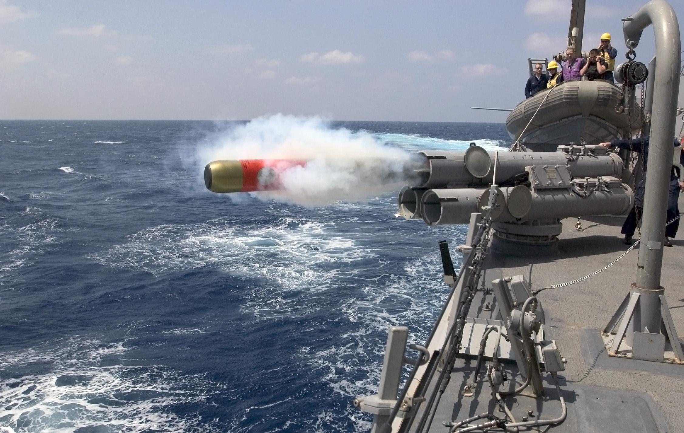 Mark 46 torpedo.