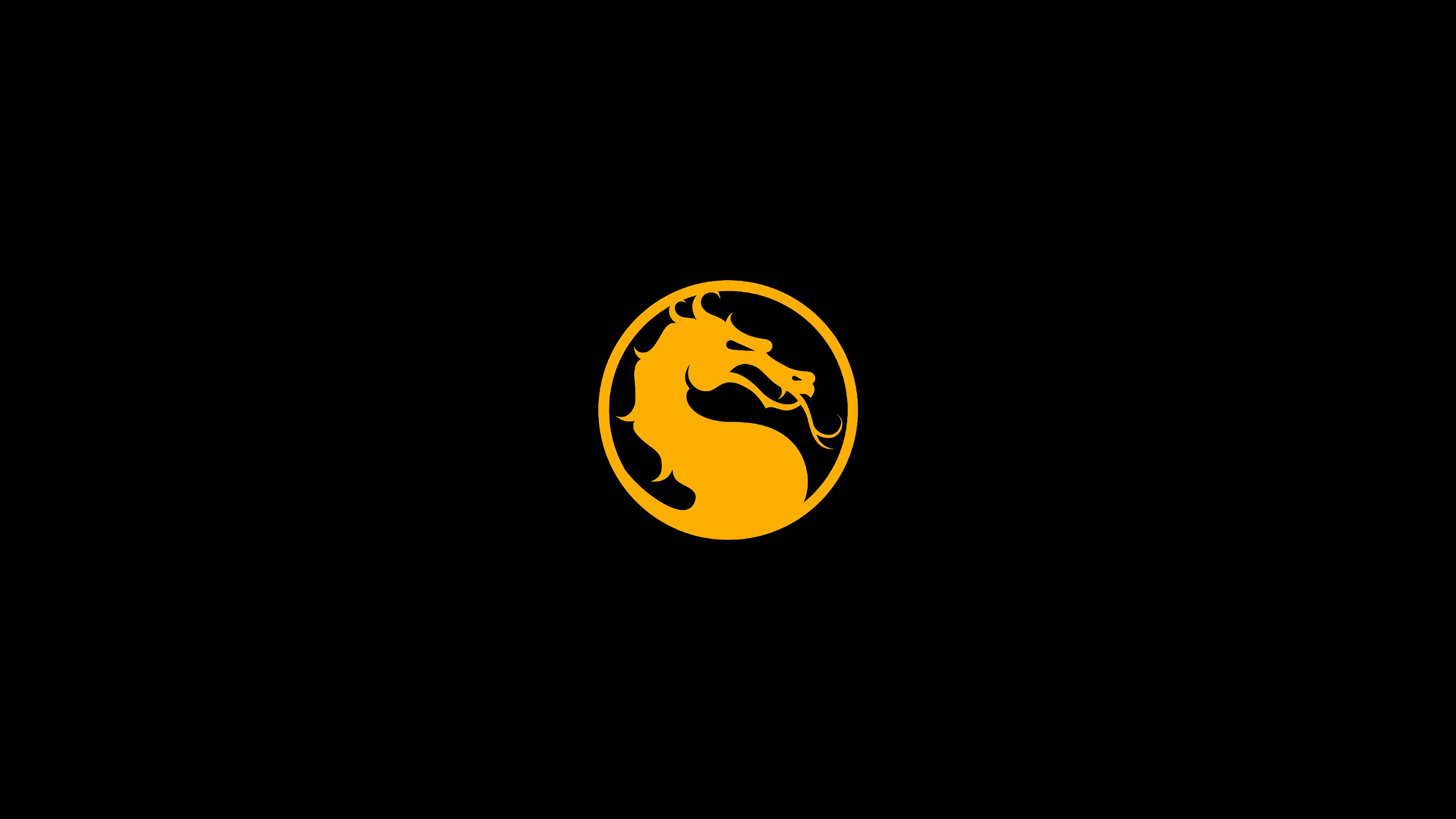 Mortal Kombat 11 background dragon logo » Mortal Kombat.