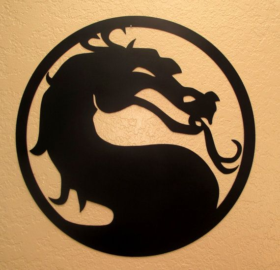 Mortal Kombat Dragon by BCMetalCraft on Etsy.