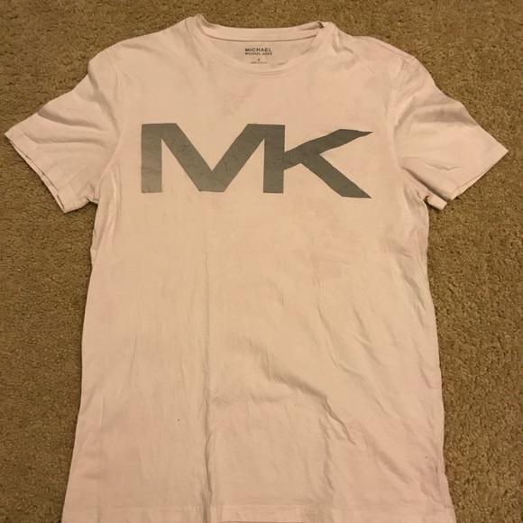 Mk logo shirt.
