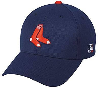 Adult Boston Red Sox Alternate Navy Blue Hat Cap MLB.