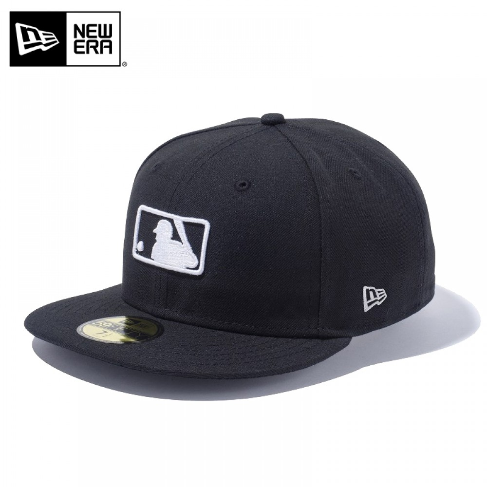 Details about NEW ERA 59FIFTY Cap Hat Fitted MLB Logo Umpire Cap Design  Motif Black F/S.