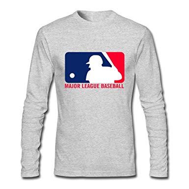 Boys Love Blank Major League Baseball Logo Long Sleeve T.