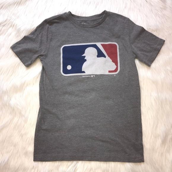 Boys Major League Baseball MLB Logo Tee Shirt.