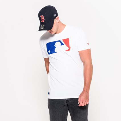 MLB Logo White Tee.