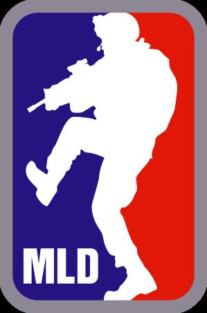 Major League Doorkicker™ logo vector.