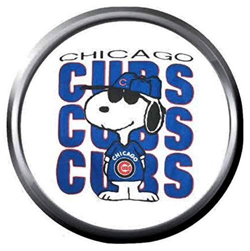 Amazon.com: Snoopy Loves Chicago Cubs Baseball MLB Team Logo.
