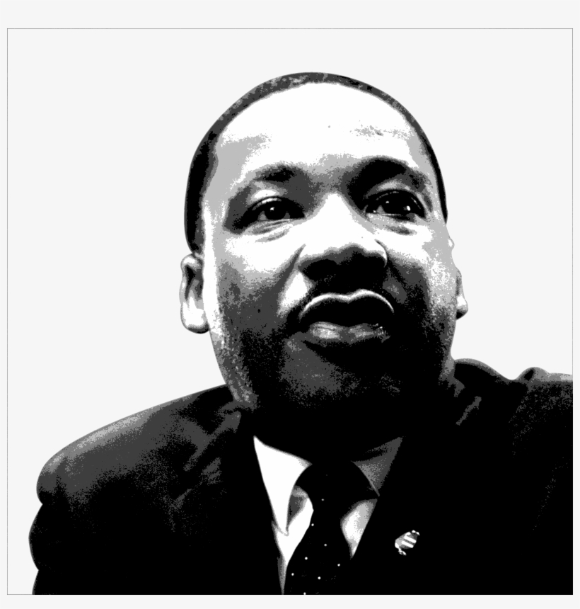 Graphic Of Mlk By Tony Virrueta / Beacon Media News.