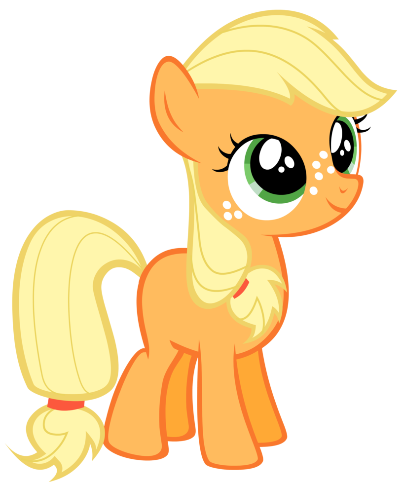 my little pony filly applejack.