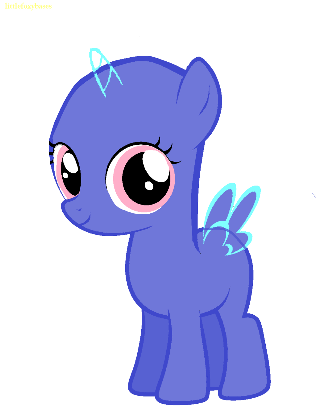 Mlp Filly Base by LittleFoxyDash on DeviantArt.
