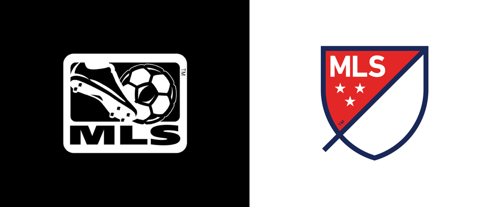 Brand New: New Logo for MLS by Athletics and Berliner Benson.