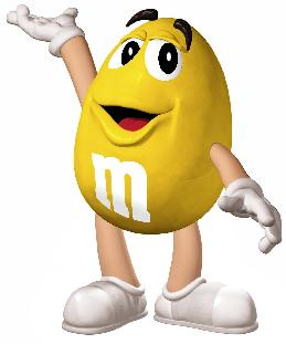 M&m Candy Characters Clipart.