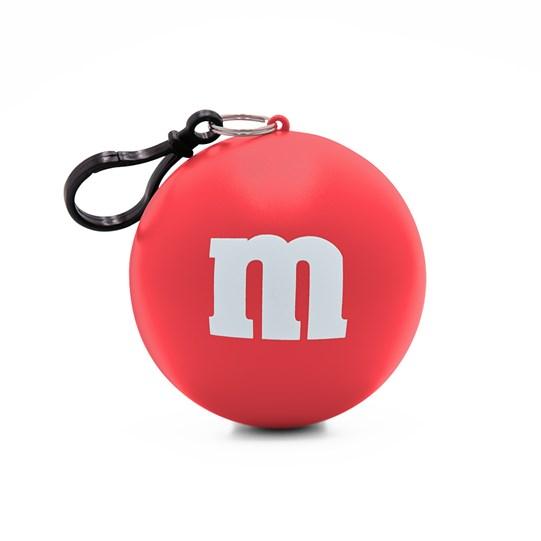 M&M'S M Logo Print Poncho in Ball.
