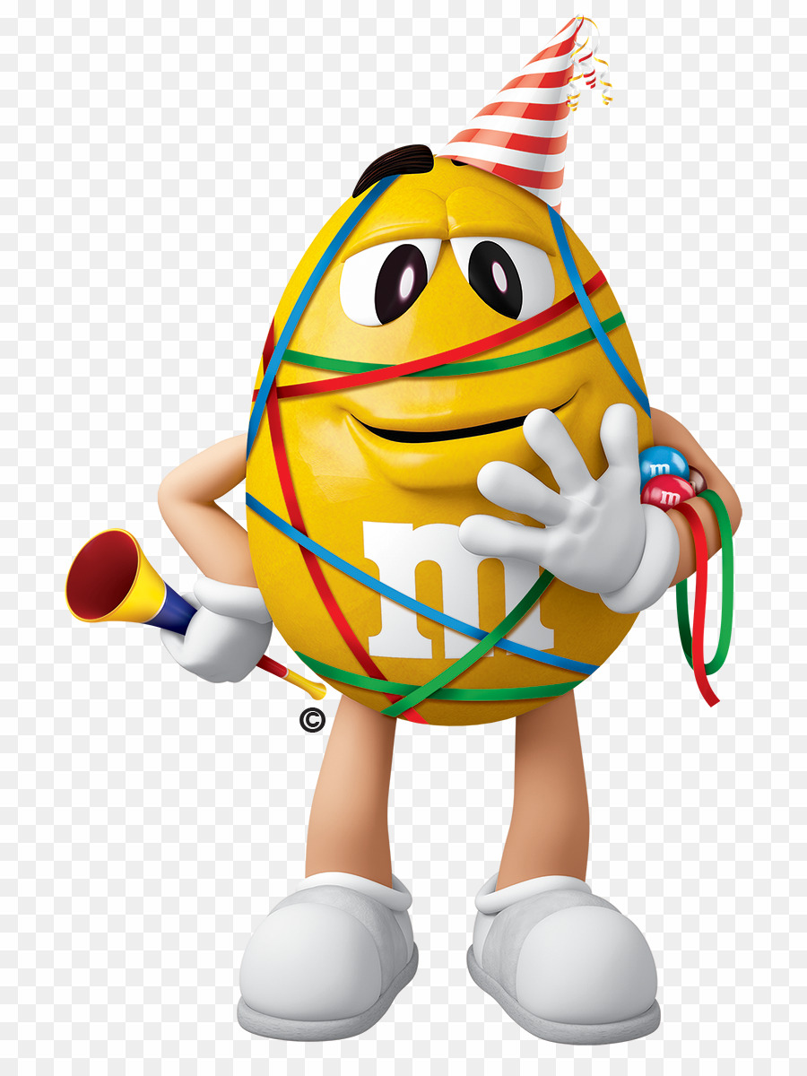 Yellow M&m PNG M&m's Breakfast Clipart download.