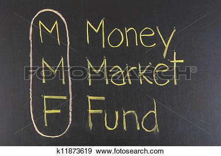 Stock Illustration of MMF acronym Money Market Fund k11873619.