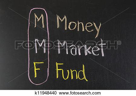 Stock Illustrations of MMF acronym Money Market Fund k11948440.