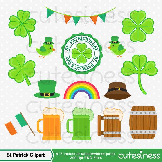 St Patrick's Clipart, St Patrick's Day Clipart, St Patrick Clipart.