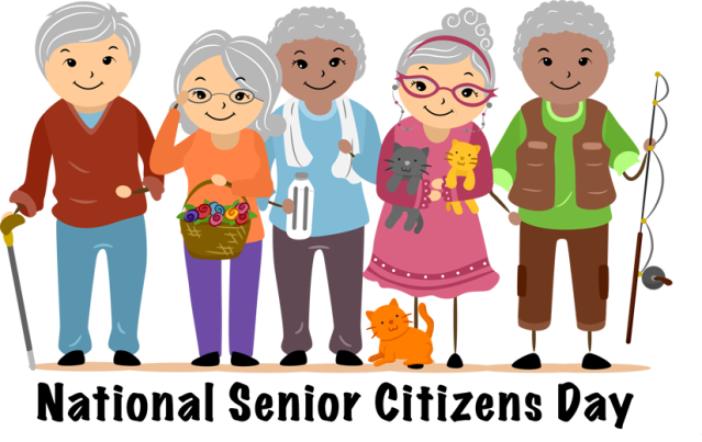 Clip Art Of Elderly Adults Clipart.