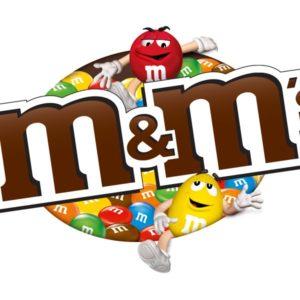 M&M\'s logo.